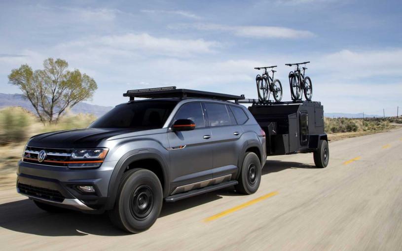 Volkswagen выпустил внедорожник для любителей горных велосипедов