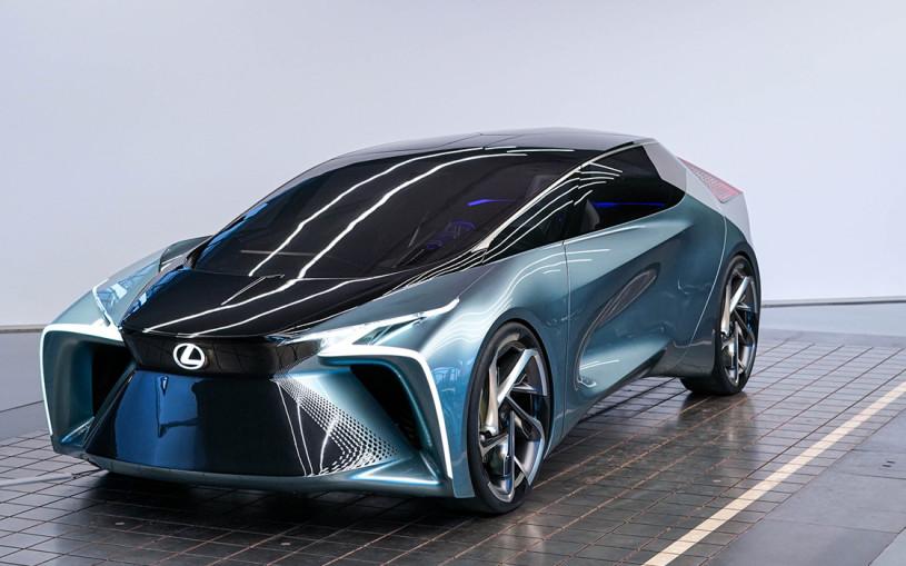 Lexus намекнул на будущие модели 544-сильным концепт-каром