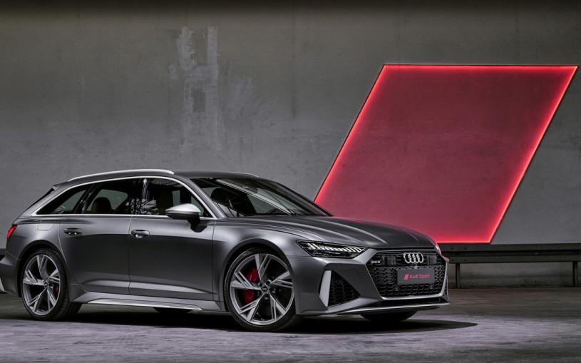 Audi показала 600-сильный универсал RS6 Avant нового поколения