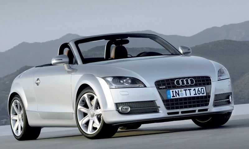 Audi TT Roadster – изящный снос крыши