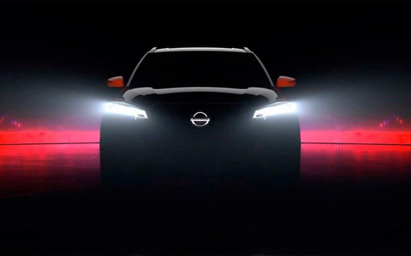 Nissan анонсировал премьеру обновленного кроссовера Kicks