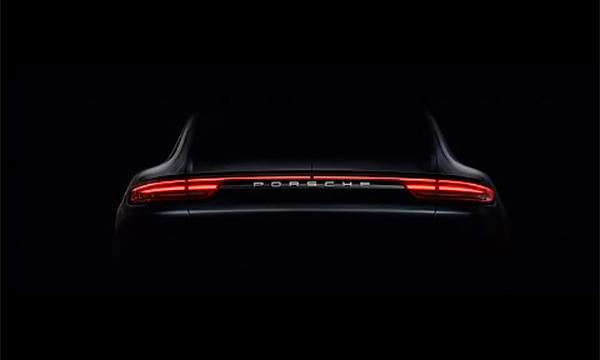 Porsche Panamera нового поколения впервые показали на видео