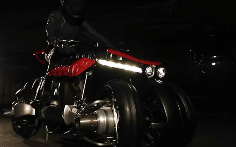 Французы анонсировали премьеру «летающего мотоцикла»