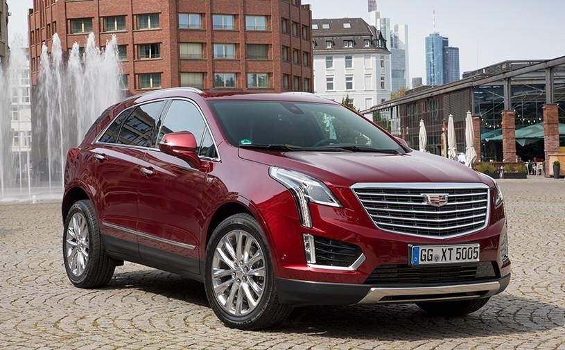 Cadillac отправит на сервис кроссоверы XT5 в России