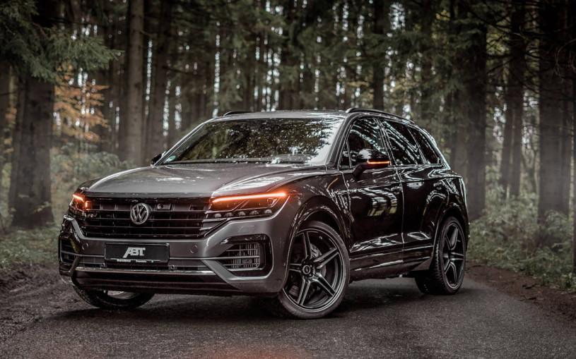 Тюнеры разработали 500-сильный дизельный Volkswagen Touareg