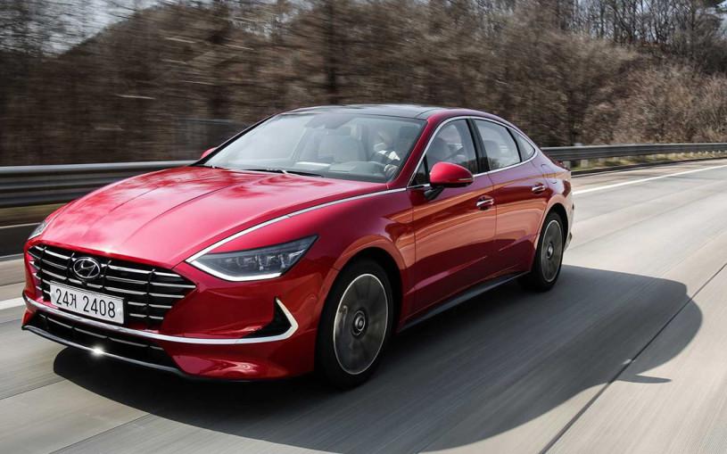 Hyundai назвал рублевые цены на новую Sonata