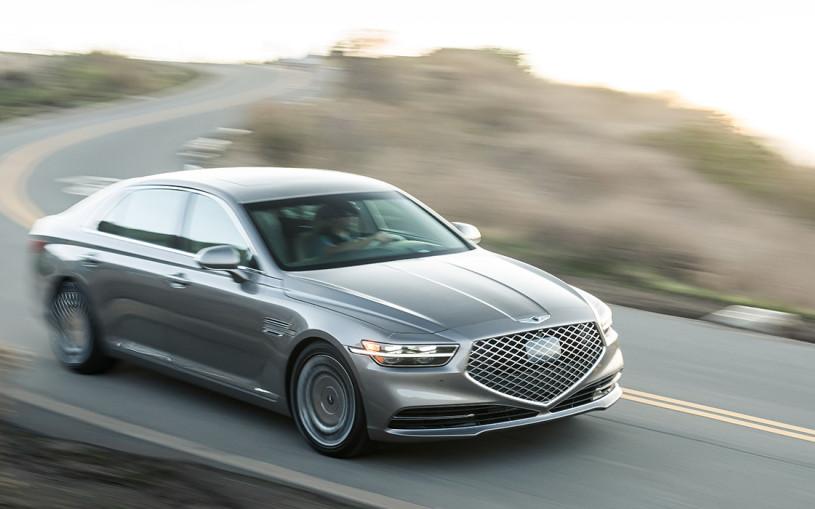 Hyundai оснастит новый Genesis G90 лазером и автопилотом