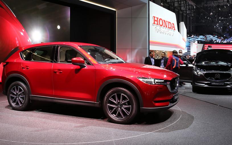 Новую Mazda CX-5 привезут в Россию в течение 2017 года