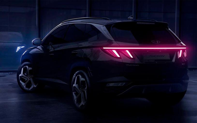 Hyundai показал на видео Tucson нового поколения
