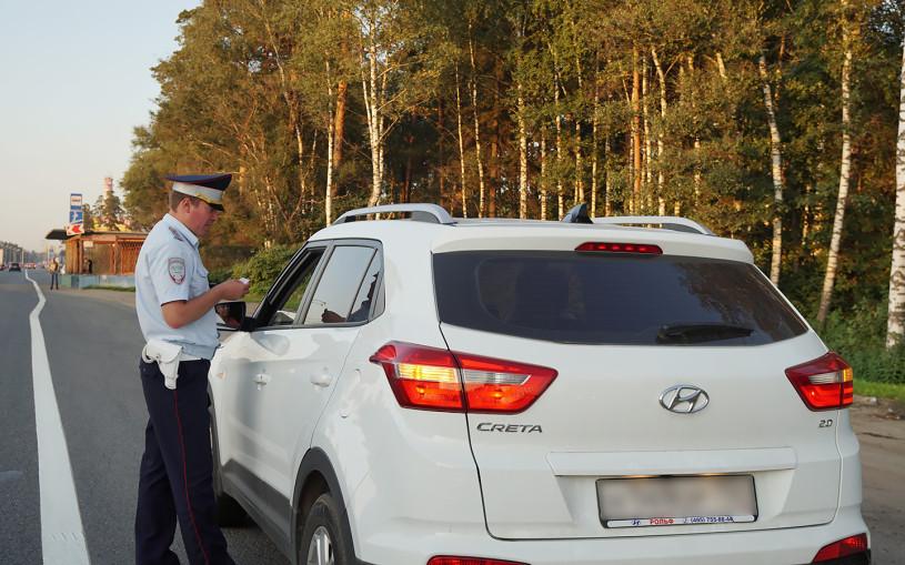 В Москве во время охоты на тонировку оштрафовали 17 тыс. водителей