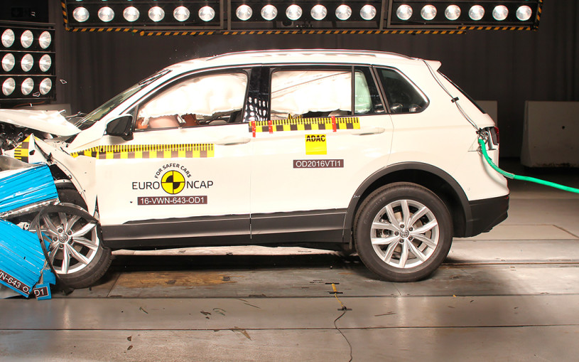 Euro NCAP назвал самые безопасные автомобили 2016 года