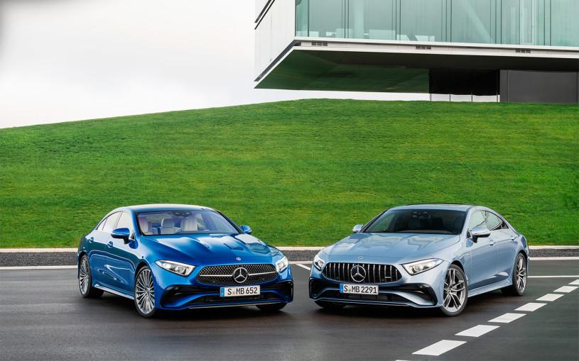 Стали известны российские цены на обновленный Mercedes-Benz CLS