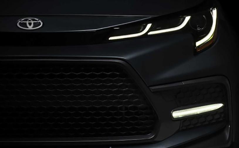 Toyota опубликовала первое изображение новой Corolla