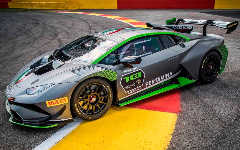 Lamborghini показала на видео мощнейшую версию суперкара Huracan