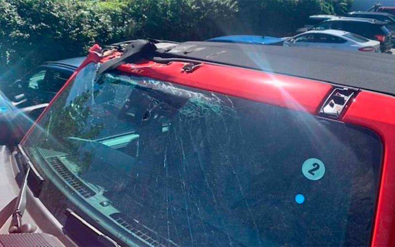 Покупателю нового Ford Bronco привезли разбитый внедорожник. Фото