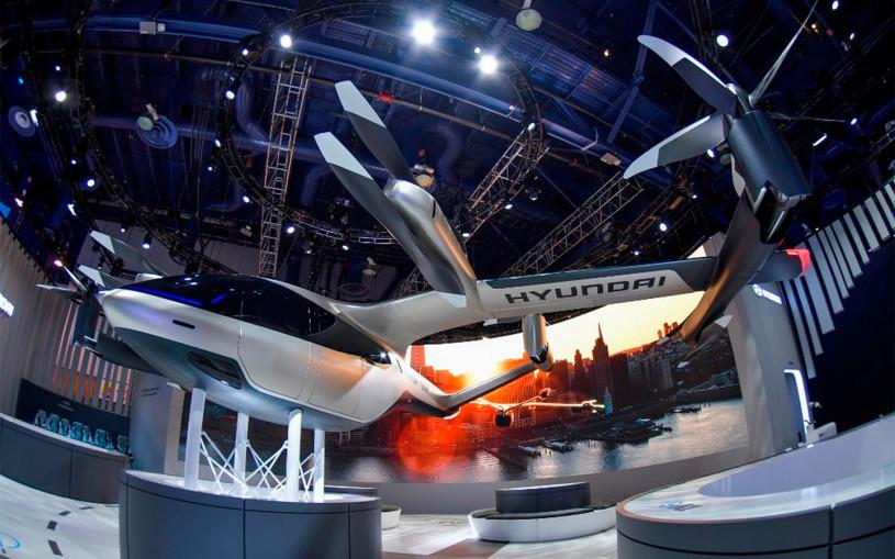 Летающие автомобили Hyundai появятся в аэропортах США в 2025 году
