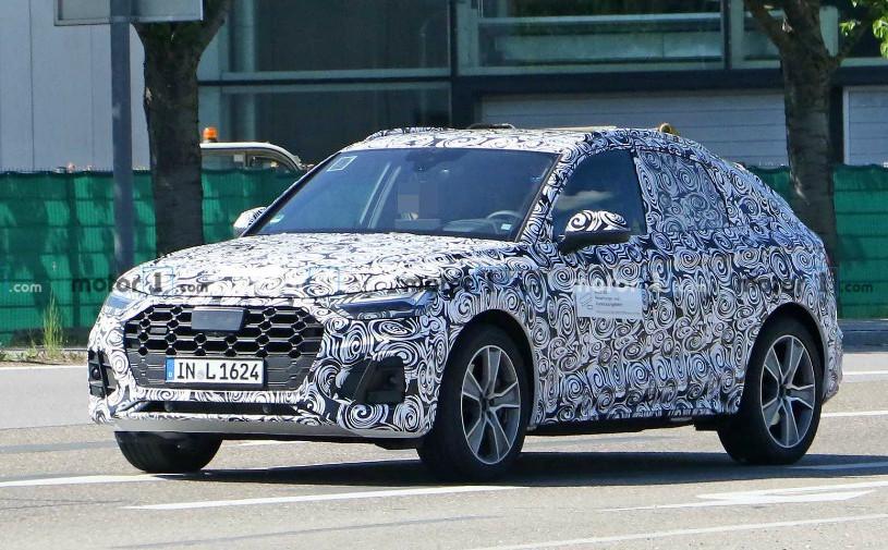 Audi приступила к тестам кроссовера Q5 с купеобразным кузовом
