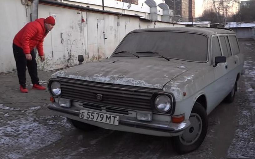 В Москве нашли забытый ГАЗ-24 с пробегом 2000 км