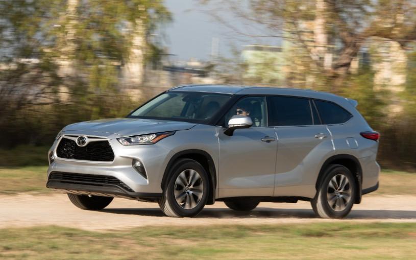 Toyota запатентовала название Grand Highlander для нового большого SUV