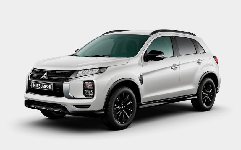 В России стартовали продажи «черной» версии Mitsubishi ASX