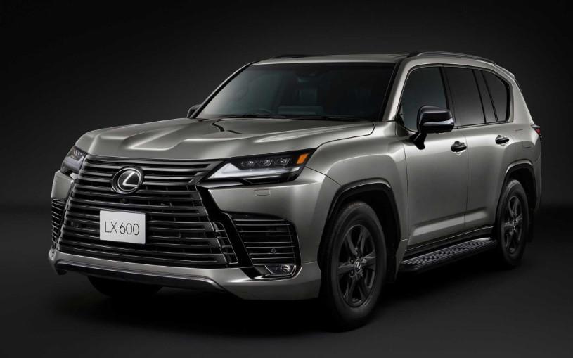 Новый Lexus LX получил версию для бездорожья
