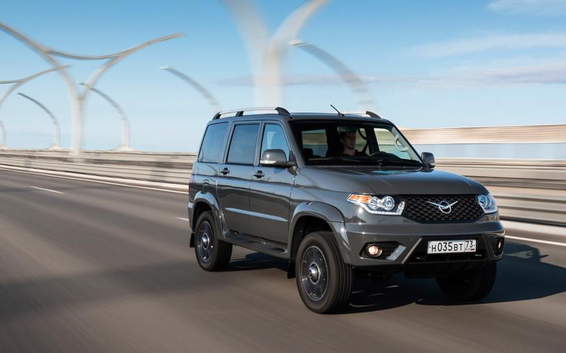 УАЗ «Патриот» стал самым продаваемым автомобилем на Дальнем Востоке