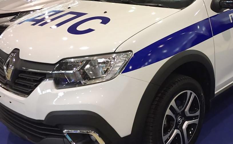Renault выпустил автомобиль ДПС на базе седана Logan Stepway