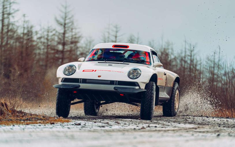 Классический спорктар Porsche превратили во внедорожник