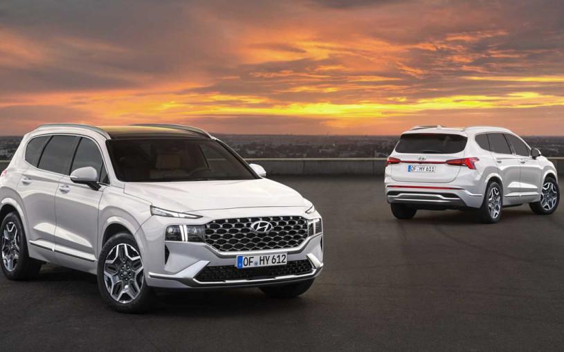 Hyundai рассекретил обновленный Santa Fe