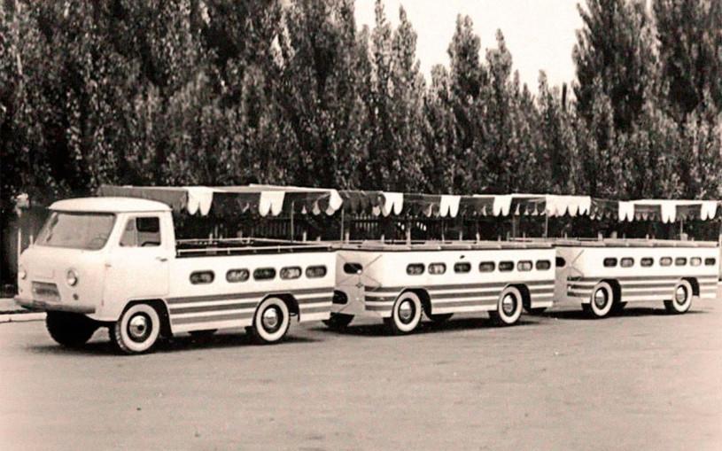 УАЗ показал автопоезд на базе «Буханки»