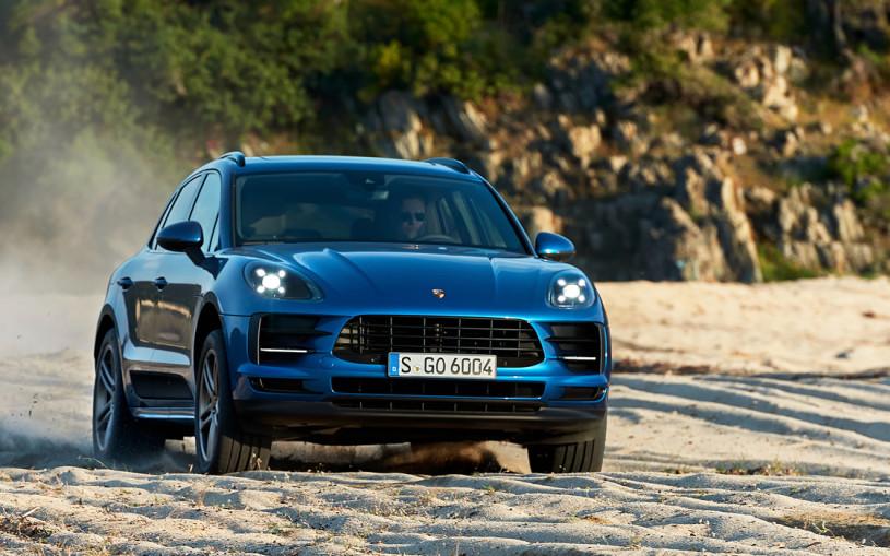 Новый Porsche Macan превратят в электрокар