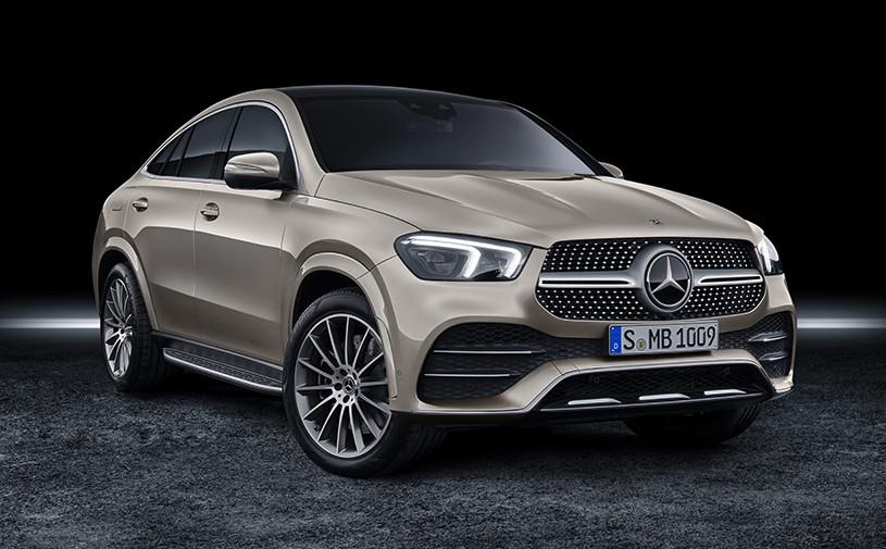 Mercedes рассказал, когда новый GLE Coupe появится в России