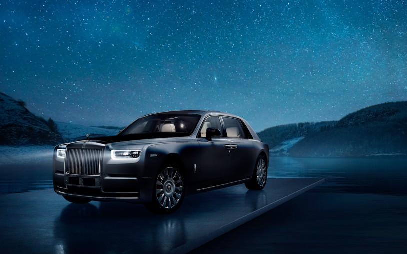 Rolls-Royce привез в Россию уникальный Phantom с фрагментом метеорита