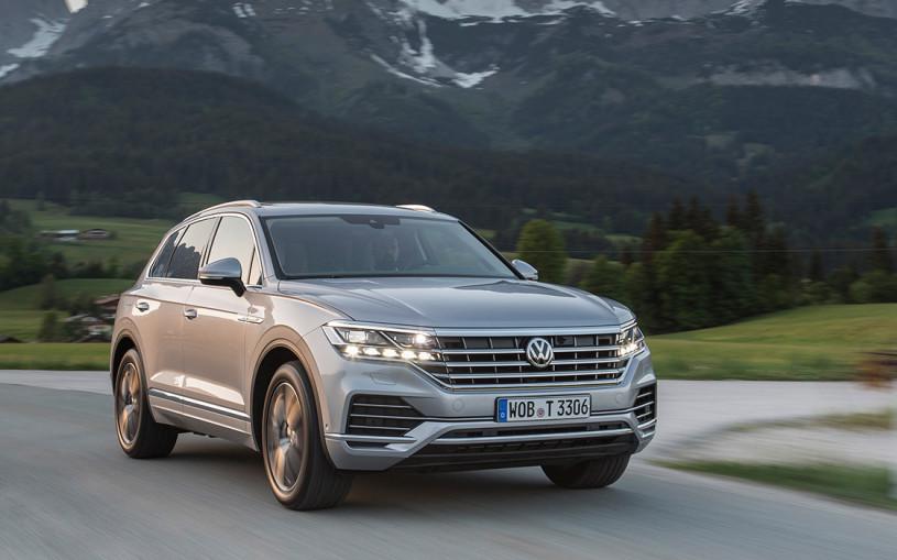 Volkswagen Touareg получил новую комплектацию с самым мощным мотором