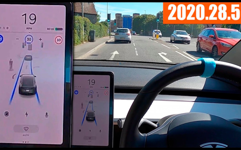 Видео: автопилот Tesla испытали на сложных трассах