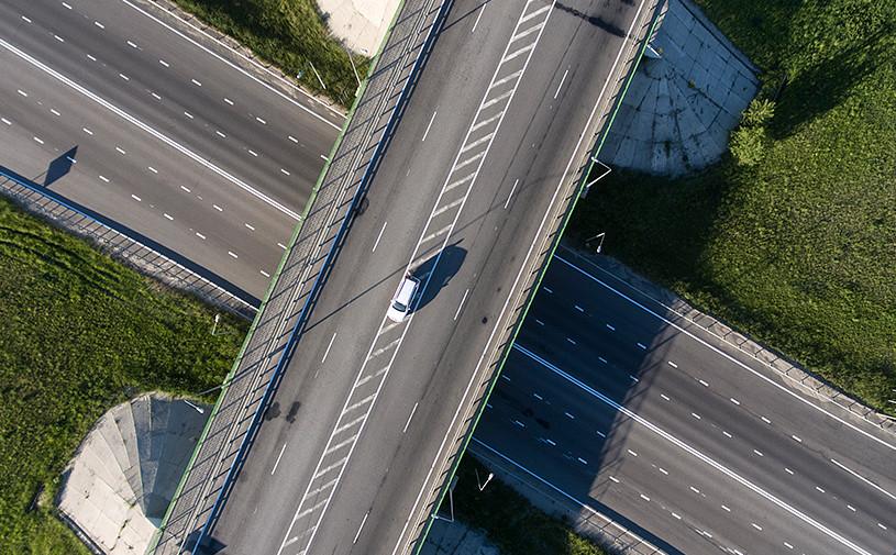 В Москве открыли движение автомобилей по Аминьевскому шоссе
