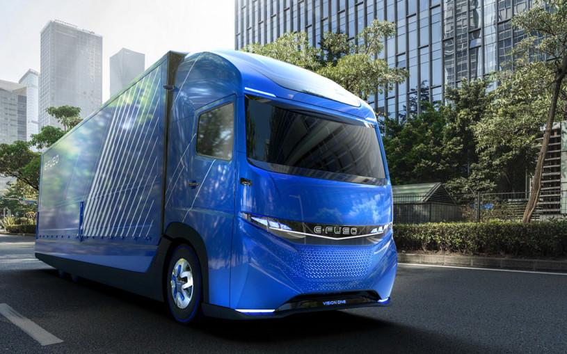 Daimler создал электрический грузовик с 350-километровым запасом хода