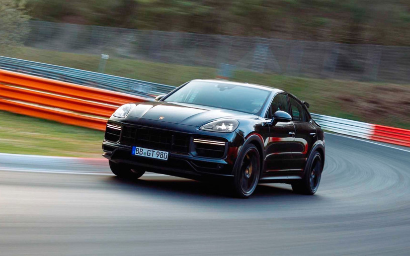 Новый Porsche Cayenne Coupe стал быстрейшим кроссовером на Нюрбургринге