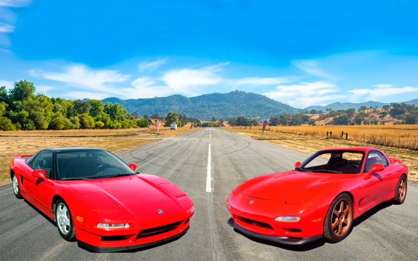 Гонку знаменитых спорткаров из 90-х годов показали на видео