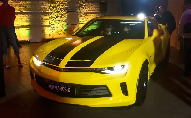 Маслкар с турбиной: новый Chevrolet Camaro в цифрах