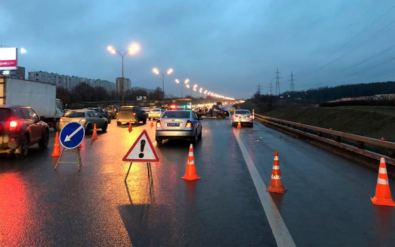 В ГИБДД назвали самые опасные магистрали Москвы