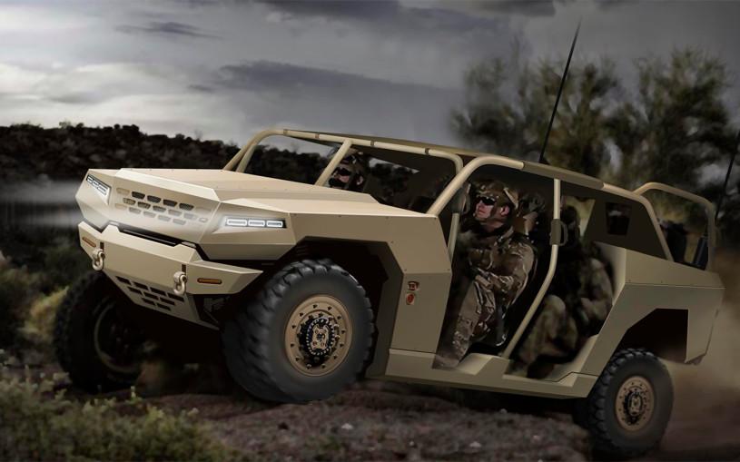 Kia разработает военный внедорожник и армейские грузовики
