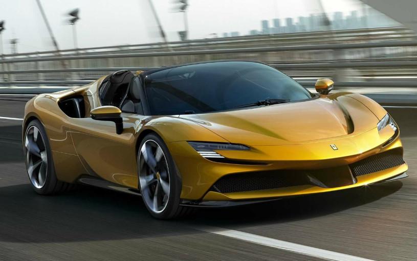 Ferrari выпустила мощнейший кабриолет в своей истории