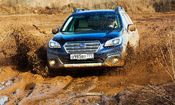Из двух миров. Тест-драйв Subaru Outback