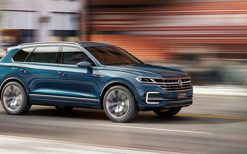 Родственник быстрейших: каким будет новый VW Touareg