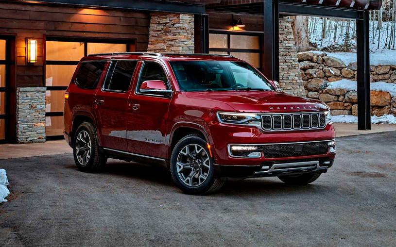 Jeep представил флагманские внедорожники Wagoneer и Grand Wagoneer