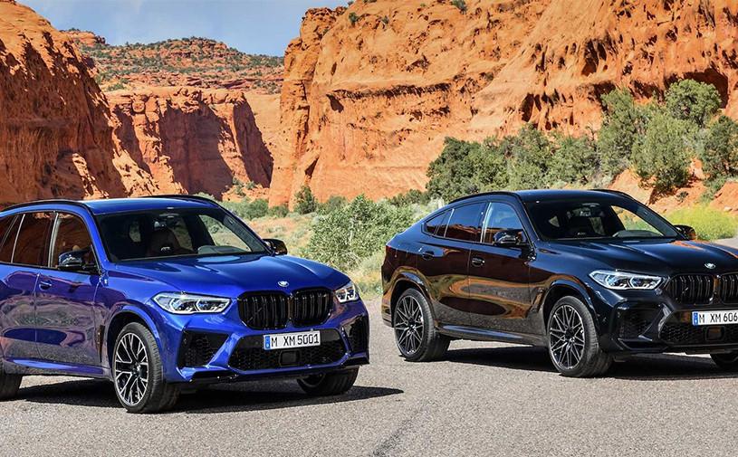 Новые BMW X5 M и X6 M получили 625-сильный мотор