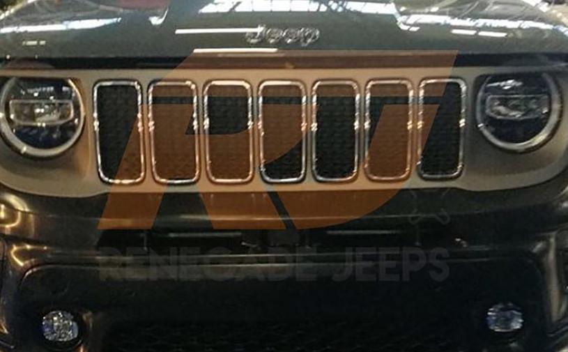 Появилась фотография обновленного Jeep Renegade