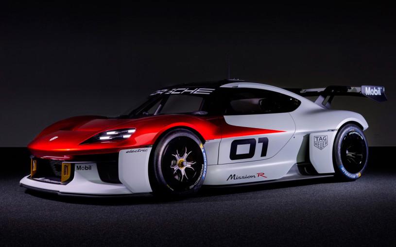 Porsche показал гоночный автомобиль будущего