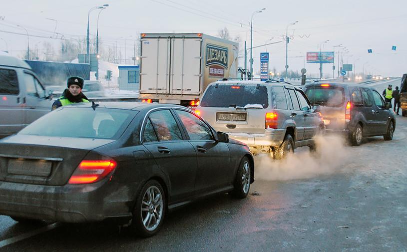 В Москве в новогодние праздники задержали более 470 пьяных водителей